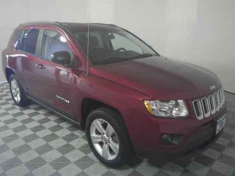 Pre-Owned 2012 Jeep Compass Latitude FWD 4D Sport Utility