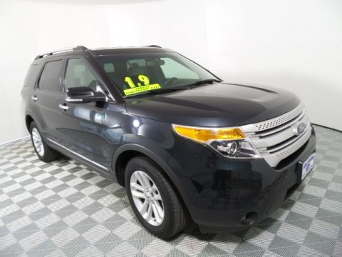 Certified Pre-Owned 2014 Ford Explorer XLT FWD 4D Sport Utility