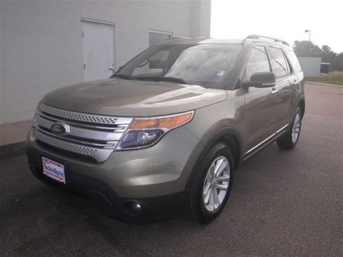 Certified Pre-Owned 2013 Ford Explorer XLT FWD SUV