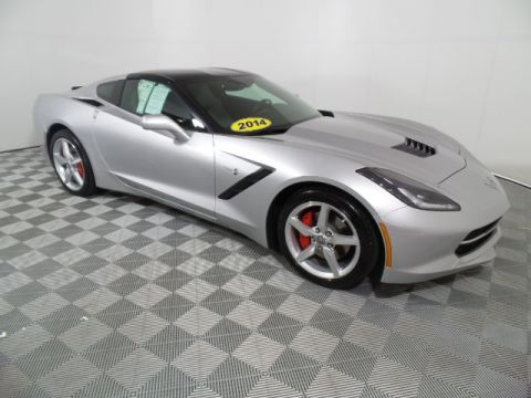 Pre-Owned 2014 Chevrolet Corvette Stingray Base RWD 2D Coupe