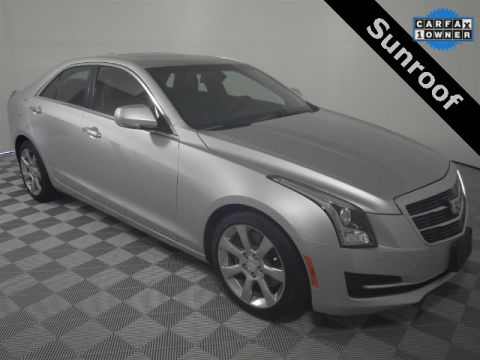 Pre-Owned 2015 Cadillac ATS 2.0L Turbo Luxury RWD 4D Sedan