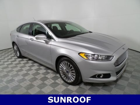 Pre-Owned 2016 Ford Fusion Titanium FWD 4D Sedan
