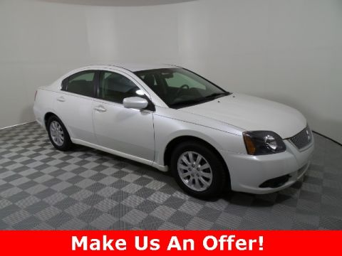 Pre-Owned 2011 Mitsubishi Galant ES FWD 4D Sedan