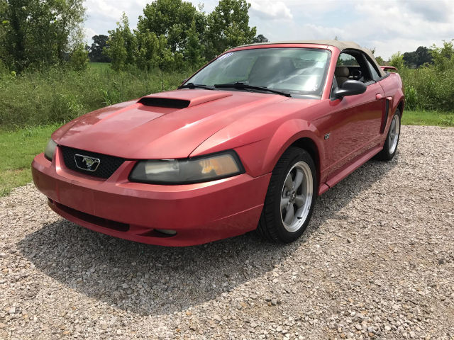 Pre-Owned 2001 Ford Mustang GT RWD Convertible