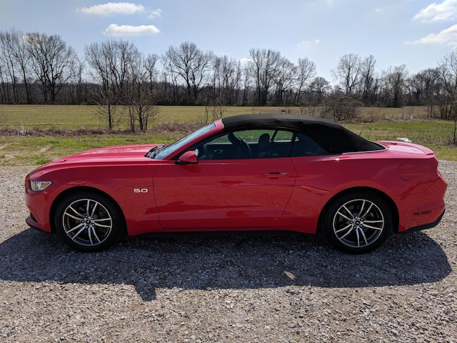 Certified Pre-Owned 2017 Ford Mustang GT Premium Convertible RWD Convertible