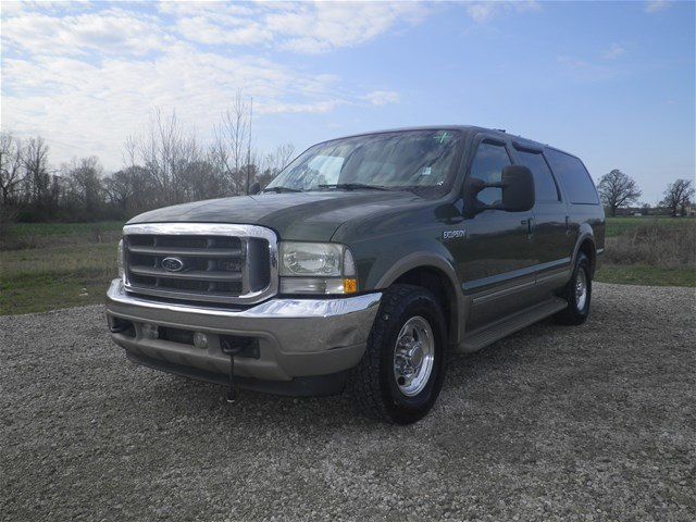 PreOwned Ford Excursion Limited SUV In Olive Branch Near - 2002 excursion