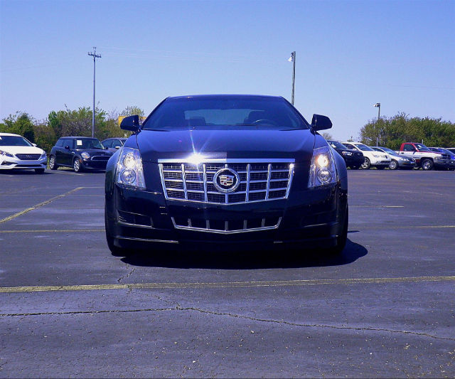 Pre-Owned 2013 Cadillac CTS Coupe AWD