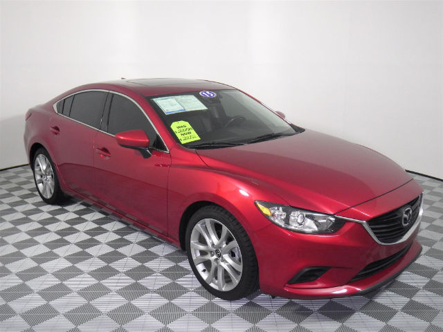 Pre-Owned 2015 Mazda6 i Touring FWD Sedan