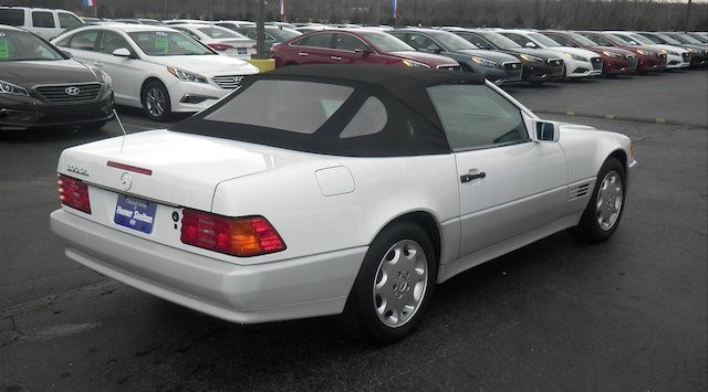 Pre-Owned 1990 Mercedes-Benz 300SL  RWD Convertible