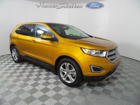 Certified Pre-Owned 2016 Ford Edge Titanium FWD 4D Sport Utility