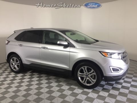 Certified Pre-Owned 2017 Ford Edge Titanium FWD 4D Sport Utility